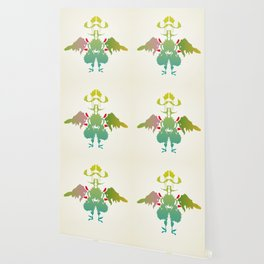 Rorschach Chicken Wallpaper