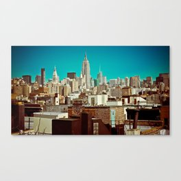 This Was Midtown Manhattan Canvas Print