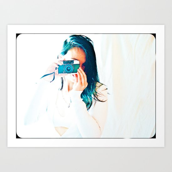 I PHOTOGRAPHER Art Print