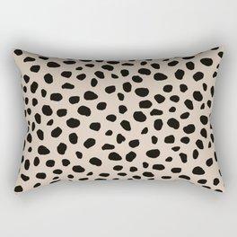 Jaguar | Black Rectangular Pillow