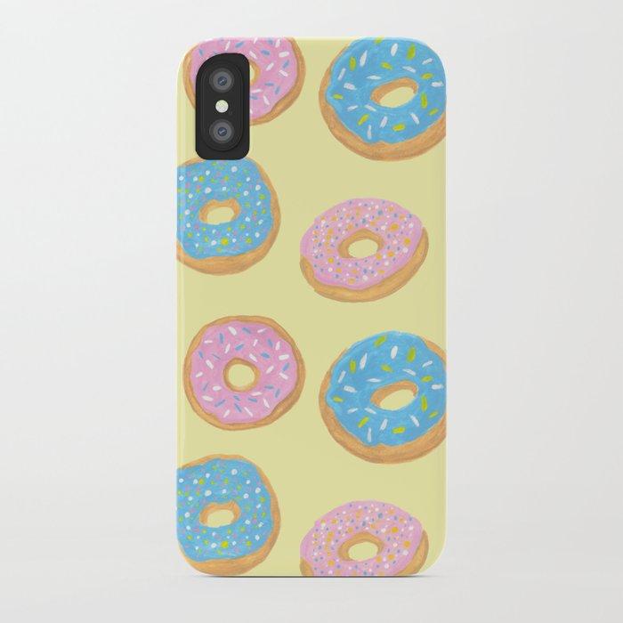 Doughnut Pattern iPhone Case