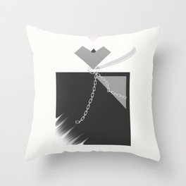 """"""" Flacon Noir """" Throw Pillow"""