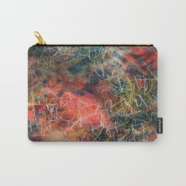 Sketchy Abstract Carry-All Pouch