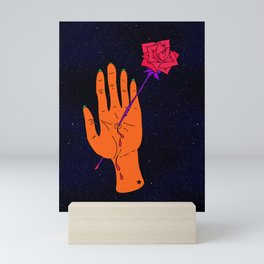 Wounded Hand // Space Mini Art Print