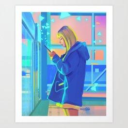 Yeoreum Art Print