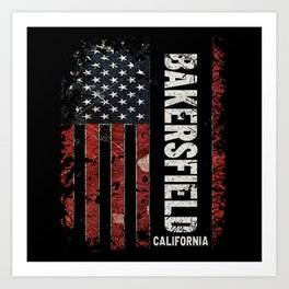 Bakersfield California Art Print