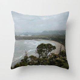 Cox Bay, Tofino, British Columbia Throw Pillow