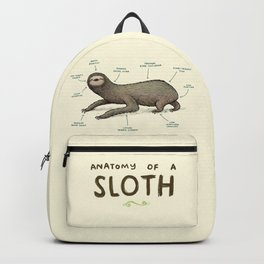 Anatomy of a Sloth Backpack