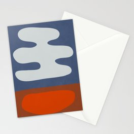 abstract minimal 34 Stationery Cards