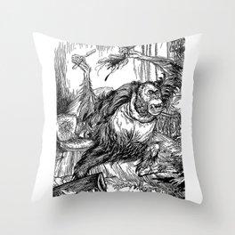 Los crímenes de la calle Morgue, POE Throw Pillow