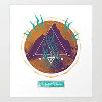 The Mountain of Madness Art Print