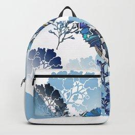 marlin fish wall deco wall hanging coral art prints Backpack