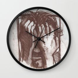 Portrait of Richard Weiss Wall Clock