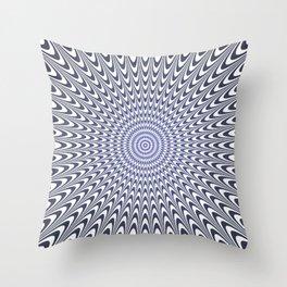Optical illusion 6 Throw Pillow