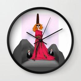 Myrtle's Last Word Wall Clock