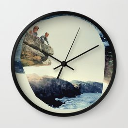 Meet on the Ledge Wall Clock