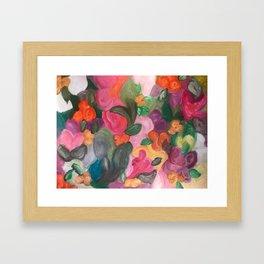 Flower World Framed Art Print