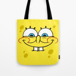 Spongebob Naughty Face Tote Bag