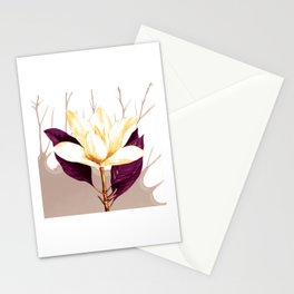 single flower Stationery Cards