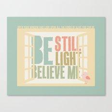 Little Bird - The Weepies Lyrics Canvas Print