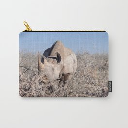 Rhino stare down - Ellie Wen Carry-All Pouch