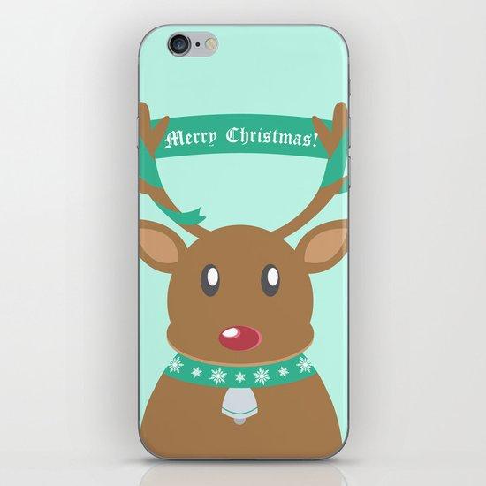 Christmas Reindeer iPhone & iPod Skin