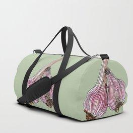 Painting of Garlics Duffle Bag
