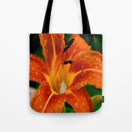Lily After The Rain Tote Bag