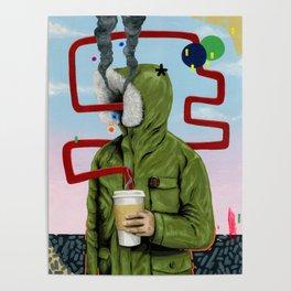 Caffeine Boost Poster
