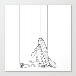 Marionette Two Canvas Print