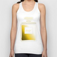 perfume Tank Tops featuring Society6 Perfume by Jessica Slater Design & Illustration