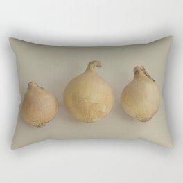 Onion trio Rectangular Pillow