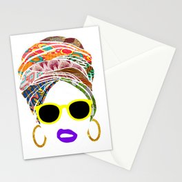 Afritude 1 Stationery Cards