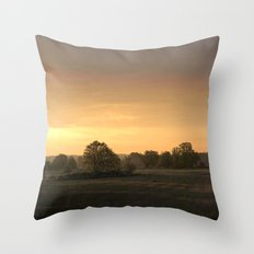 Sunrise in August Throw Pillow