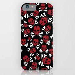 REDSKULL pirate iPhone Case
