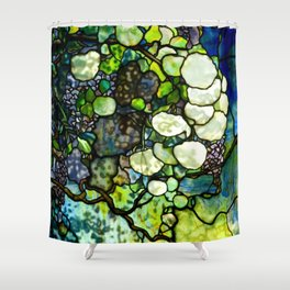 Louis Comfort Tiffany - Decorative stained glass 7. Shower Curtain