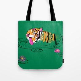 Tigar Lily Tote Bag
