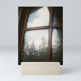 Window Reflections. 35mm Analogue Film Photography. Moody Nature Fine Art Print. Travel Wall Art.  Mini Art Print