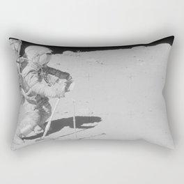 Apollo 16 - Collecting Lunar Samples Rectangular Pillow