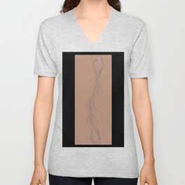 Specimen #35c (worms) Unisex V-Neck