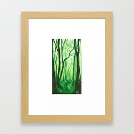 Mossy Dreams Framed Art Print