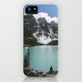 Man and Mountain iPhone Case