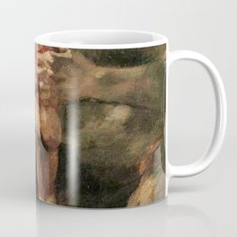 Saturn Devouring His Son Restored Painting Coffee Mug