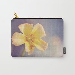 A Little Yellow Flower Carry-All Pouch