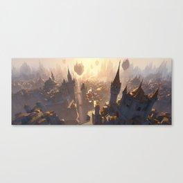 Ravnica Plains Canvas Print