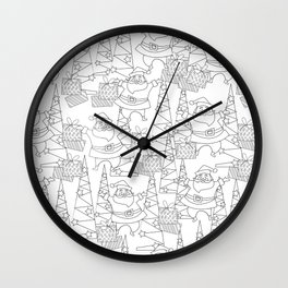 Jingle Jangle - Coloring Book Wall Clock