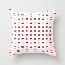 flag of austria 8 Handmade Throw Pillow