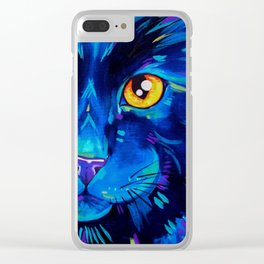 Cat's in Color 2 Clear iPhone Case