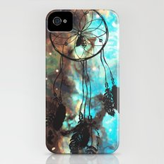 Dreamcatcher (blue) Slim Case iPhone (4, 4s)