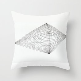 net diamant Throw Pillow